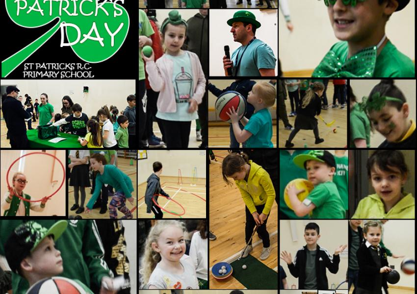 St Patrick's Day at St Patrick's Primary Lochgelly 2018